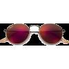 RAY BAN round red sunglasses - Sunglasses -