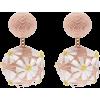 REBECCA DE RAVENEL  Forget Me Not cord c - Earrings -