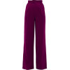 REBECCA DE RAVENEL Wool crepe wide-leg t - Pantalones Capri -