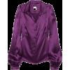 RED VALENTINO Long sleeves shirts Purple - Hemden - lang -