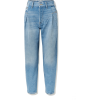 RE/DONE 40s Zoot pleated high-rise taper - Jeans -