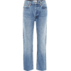 RE/DONE High-waisted cropped jeans - Jeans -