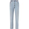 RE/DONE Relaxed Destroyed High-Rise Jean - Jeans -