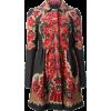 RED VALENTINO Floral Print Coat - Jacket - coats -