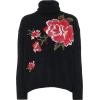 REDVALENTINO Floral turtleneck sweater - Swetry -