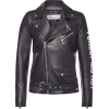 RED VALENTINO Leather Biker Jacket - Jakne in plašči -
