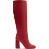 RED VALENTINO Leather Knee Boots - 靴子 -