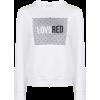 RED VALENTINO LoveRed print sweatshirt - Pullovers -