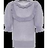 REDVALENTINO Puff sleeve mohair-blend sw - Koszule - krótkie -