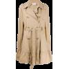 RED VALENTINO RED(V) ruffled hem cape - Jacket - coats -
