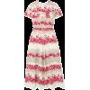 REDVALENTINORuffled floral-print crepe d - Dresses -