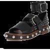 RED VALENTINO black sandal - Sandale -