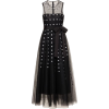 RED VALENTINO black tulle dress - Vestiti -
