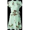 RED VALENTINO daisy & cherry print dress - Haljine -