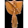 RED VALENTINO fringe embellished crossbo - Hand bag -