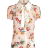 RED VALENTINO multicolor floral blouse - Shirts -