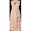 RED VALENTINO pink birds printed dress - Vestiti -