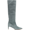 RED (V) RED (V) suede knee-high boots - Boots -
