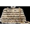 RED(V) Ruffled faille shoulder bag - Poštarske torbe - $297.00  ~ 255.09€