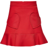 RED Valentino - Heart mini skirt - Skirts -