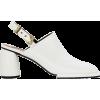 REIKE NEN White Platform Mules - Classic shoes & Pumps -