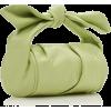 REJINA PAYO green leather bag - Torebki -
