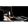 REJINA PYO black barbara 55 patent leath - Balerinki -