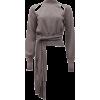 REJINA PYO grey sweater - Pullovers -