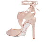 RENE' CAOVILLACrystal-embellished satin - Classic shoes & Pumps -