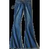 RETRO MID WAIST FLARE JEANS (5 COLORS) - Jeans - $49.97