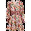 RHODE Olivia Floral Poplin Mini Dress - Obleke -