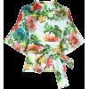 RIANNA + NINA Claudia floral print belte - Srajce - kratke -