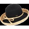 RIBBON/RAFFIA HAT - Chapéus -