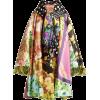 RICHARD QUINN floral scarf satin coat - Giacce e capotti -