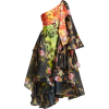 RICHARD QUINN one-shoulder floral dress - Vestiti -