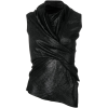 RICK OWENS LILIES asymmetric wrap blouse - Košulje - kratke -