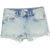 RIPPED LOW-RISE DENIM SHORTS - Shorts - $35.90