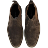 ROAMERS brown desert boots - Buty wysokie -
