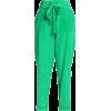 ROBERTO CAVALLI Cropped silk crepe de ch - Capri & Cropped -