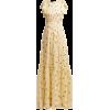 ROCHAS  Pleated floral-print silk-george - Haljine -