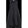 ROCHAS black oversized taffeta dress - Dresses -
