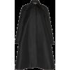 ROCHAS black satin coat - Jacket - coats -