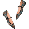 ROCHAS brocade flat shoes - scarpe di baletto -