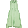 ROCHAS green oversized taffeta dress - Dresses -