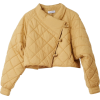 RODEBJER cropped quilted jacket - Jakne in plašči -