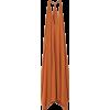 RODEBJER orange sheer sleeveless dress - Dresses -