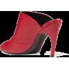 ROGER VIVIER Choc Real logo-embossed lea - Sandals -