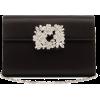 ROGER VIVIER Bouquet crystal-embellished - Borse con fibbia -