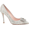 ROGER VIVIER Flower Strass tweed pumps - Scarpe classiche -