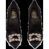 ROGER VIVIER  Flower crystal-embellished - Klassische Schuhe -